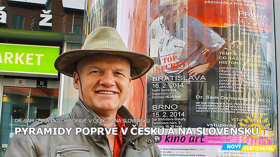 Dr. Osmanagich poprvé v Česko-Slovensku