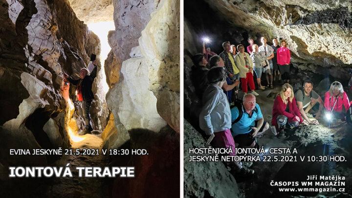 21-05 Iontová terapie v jeskyni Eva a Netopýrka