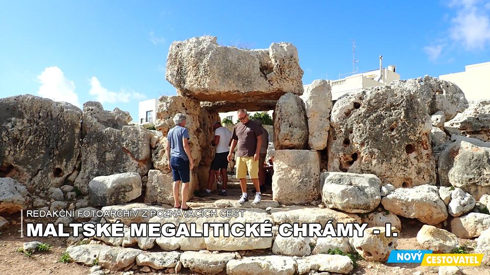 Maltské megalitické chrámy – I.