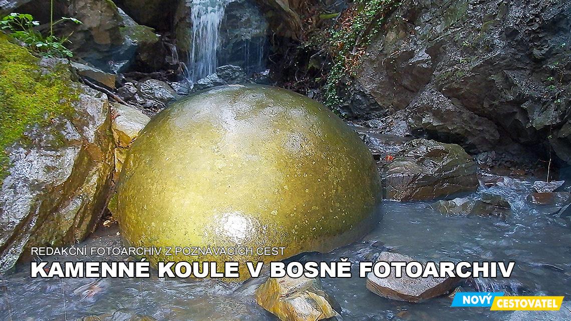 Kamenné koule fotoarchiv