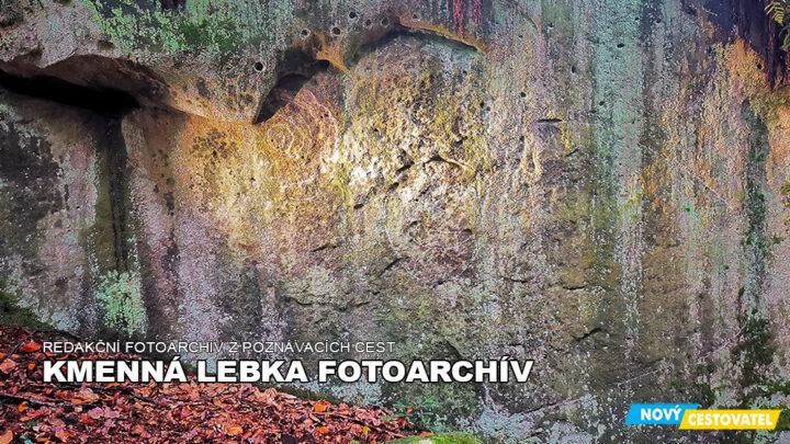 Kamenná lebka fotoarchív